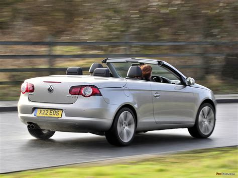 Volkswagen Eos Uk Spec 200610 Wallpapers 1280x960