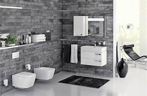 Badezimmer Ideen Grau : badezimmer fliesen ideen grau wohndesign ~ Eleganceandgraceweddings.com Haus und Dekorationen