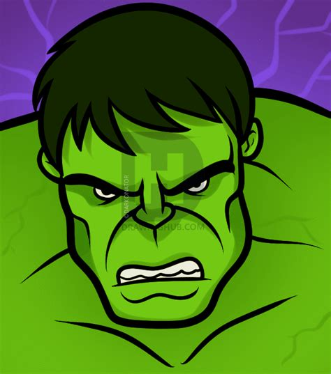 draw  hulk easy step  step drawing guide