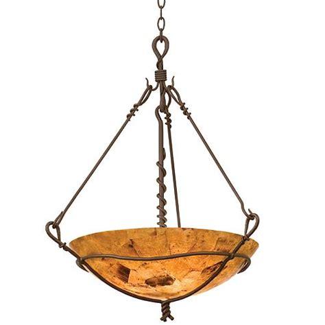 rustic pendant lighting small vine bowl rustic pendant light