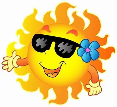 Sun Cartoon Summer Funny Sunshine Fun Cool
