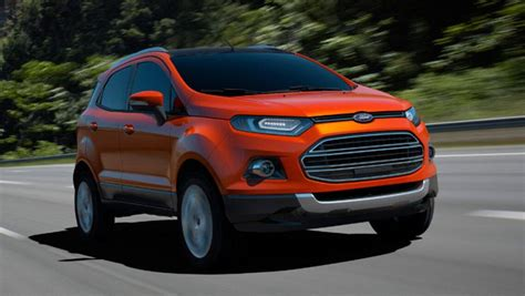 Ford Suv Car by Ford Ecosport Compact Suv At 22 000 Car News Carsguide