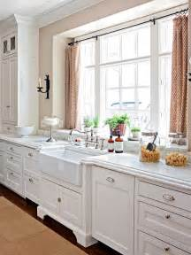 kitchen window design ideas modern furniture 2013 white kitchen decorating ideas from bhg