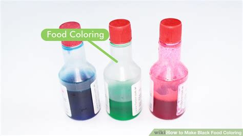 how to make black with food coloring how to make black food coloring 7 steps with pictures
