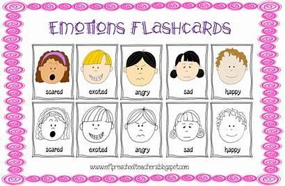 Feelings Emotions Preschool Esl Theme Worksheets Ell