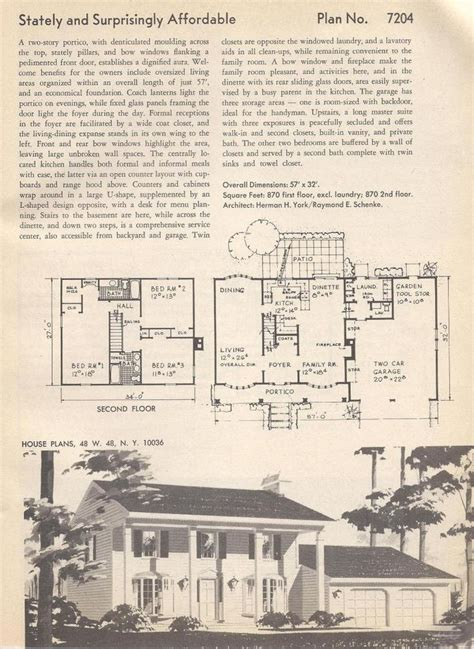 stately vintage house plans vintage house colonial house plans