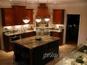 pendant light fixtures for kitchen island kitchen bathroom remodel home renovation photo gallery grny renovation nyc