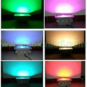 China w color changing rgb led flood light
