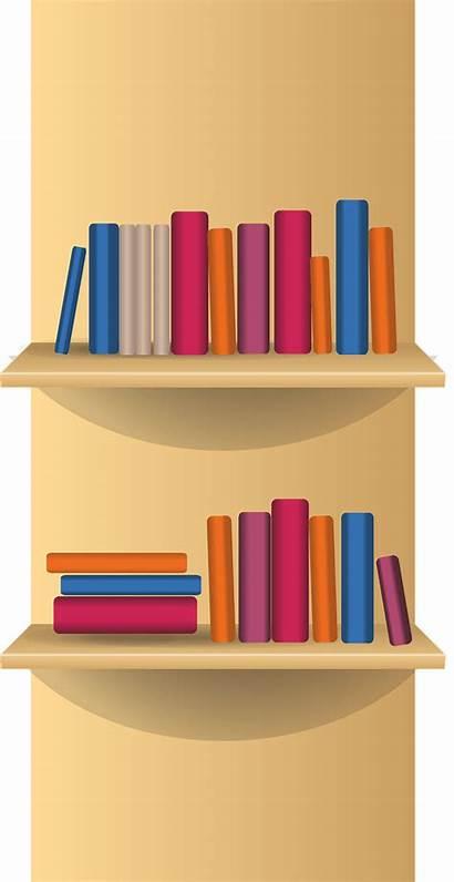Clipart Transparent Bookshelf Furniture Bookcase Library Clip