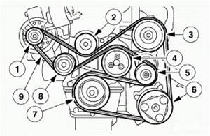 1998-2003 Ford Escort Zx2 2 0l Dohc Serpentine Belt Diagram