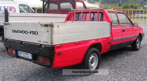 Daewoo Fso Pick-up 2000 Stake Body Truck Photo And Specs