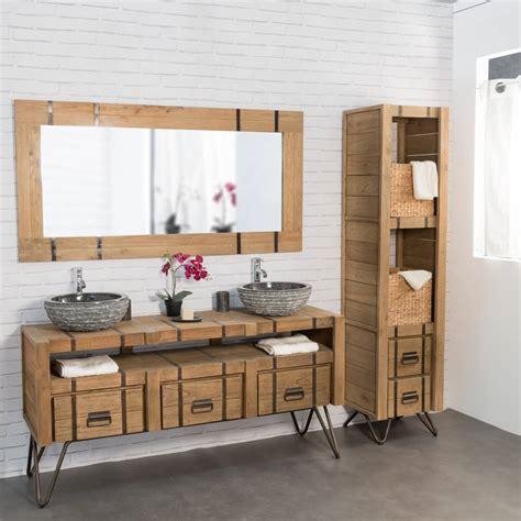 meuble rangement chambre pas cher meuble salle de bain bois pas cher