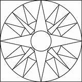 Coloring Geometric Printable Meditation Popular sketch template