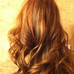 Coloring over bleached hair with a medium brown, copper ...