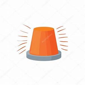 Red flashing light icon cartoon style stock vector for Lamp light blinking on jvc