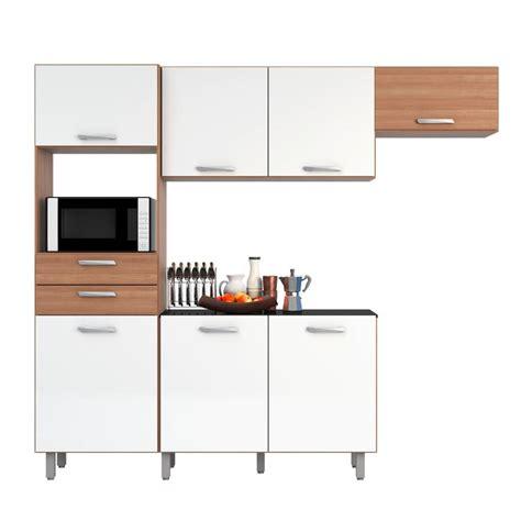 HOME MOBILI Kit Cocina Lira Carvalho Blanco Falabella com