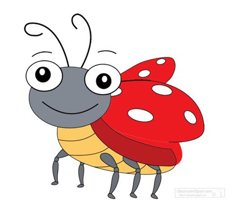 cartoon animal clipart ladybug clipground