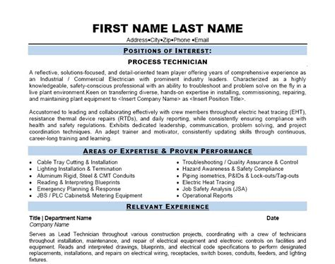 Cctv Technician Resume Format by Cctv Technician Resume Sle