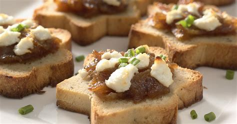 baked canapes sandwich bread canapés recipe king arthur flour