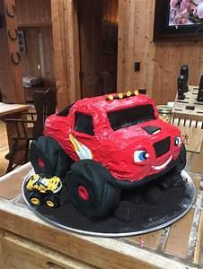 Blaze The Monster Truck Cake Sweets Pinterest Trucks