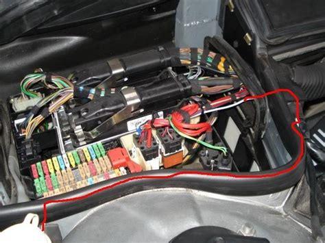bmw  fuse box location fuse box  wiring diagram