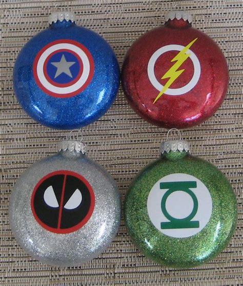 superhero ornaments deadpool green lantern captain