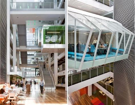 macquarie banks green office  part space station part