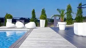 Massif Autour Piscine : piscine 1 web les paysagistes francais bourgoin jallieu la tour du pin ~ Farleysfitness.com Idées de Décoration