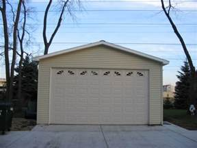 Garage with 4 12 Pitch Roof