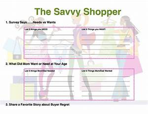 SAVVY SHOPPER BADGE pg 1- A free field trip to the grocery ...