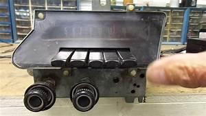 1969 Ford Galaxie Custom Ltd Push Button Am Radio Philco