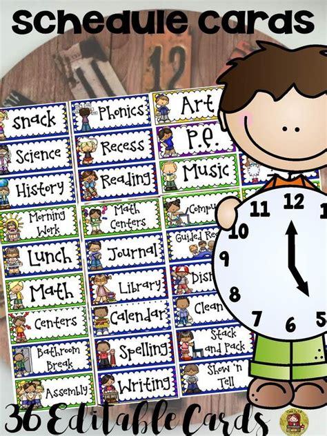 1000 ideas about preschool schedule cards on 814 | 6cf5fc02ea3943d0042f42962d36f184