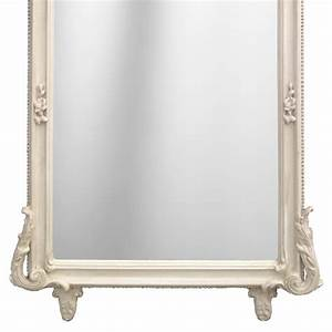 Grand Miroir Rectangulaire : grand miroir rectangulaire baroque beige patin ~ Preciouscoupons.com Idées de Décoration