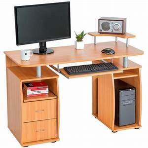Meuble Pour Bureau : meuble d 39 ordinateur bureau informatique avec rangement achat vente meuble d 39 ordinateur ~ Teatrodelosmanantiales.com Idées de Décoration