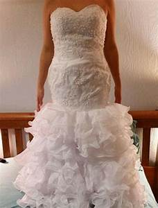 brides show their knock off wedding dresses that look With resell wedding dress