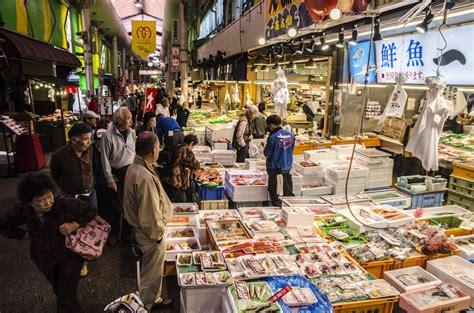 street markets  food  kanazawa   noto