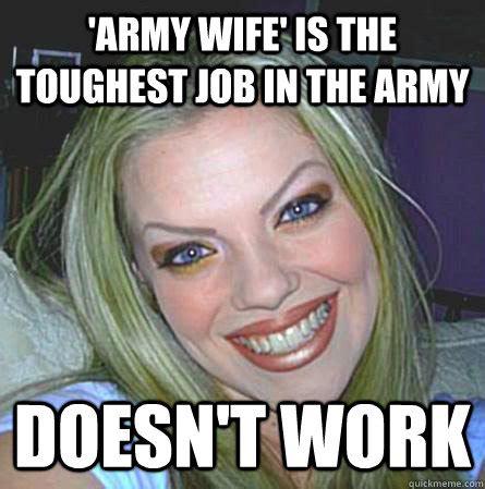 Military Wives Meme - pics for gt military spouse meme