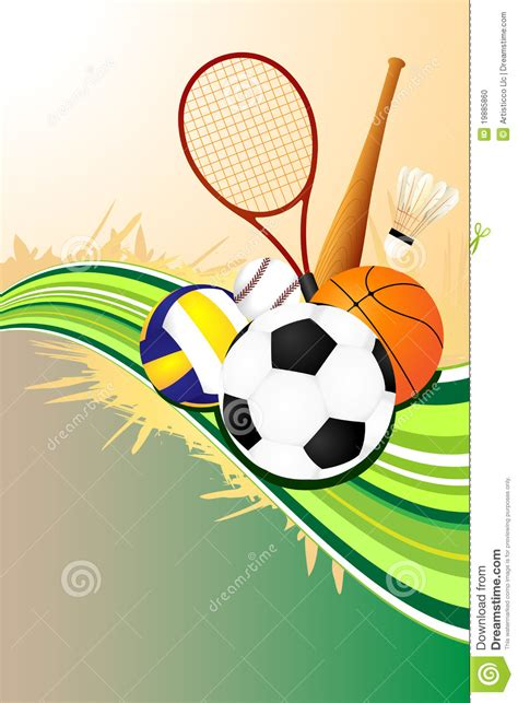 Sports Background Designs by Sports Background Stock Photo Image 19885860