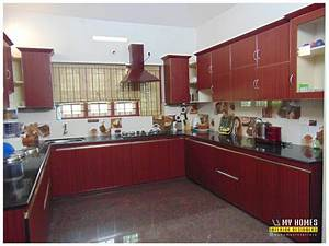 Traditional homes house interior pooja room designs kerala for Interior design for kitchen in kerala