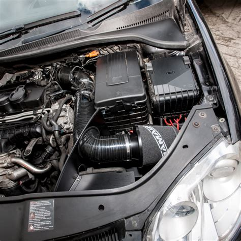 Performance Foam Air Filter & Heat Shield Induction Kit