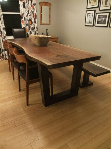 Live Edge Tables Toronto Ontario Slab Table   Contemporary