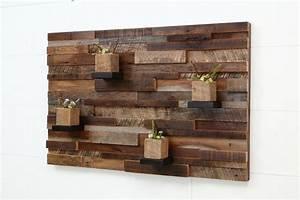 Wall art designs distressed wood custom made