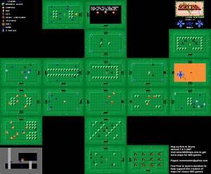 The Legend Of Zelda Level 03 Quest 1 Map Png