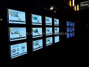 Cadre Message Lumineux : affichage publicit cadre lumineux led crystal ~ Teatrodelosmanantiales.com Idées de Décoration