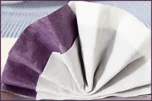 servietten falten faecher zwei servietten