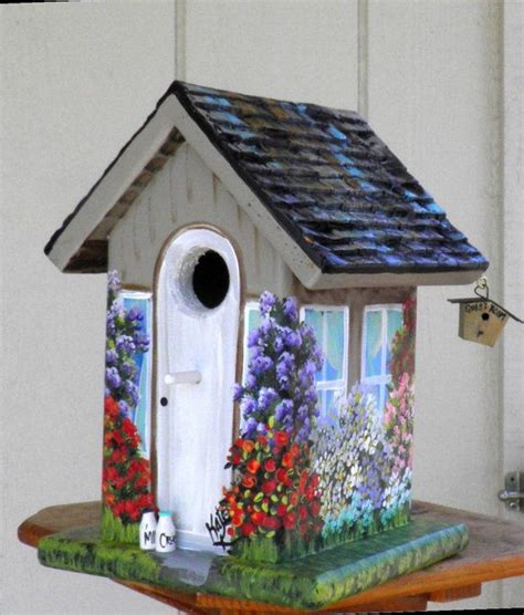 92 best images about painted birdhouse ideas on