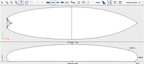 Longboard Template Maker by Shape3d Surfboard Design Software