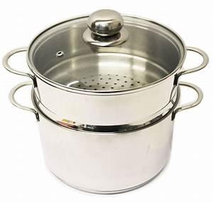 Topf 20 Liter : dampfgarer edelstahl 20 cm couscous topf reistopf dampfkocher 3 teilig kochtopf ebay ~ Orissabook.com Haus und Dekorationen