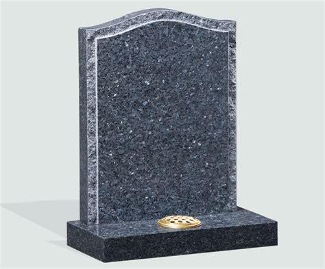 polished blue pearl granite headstone memorials of