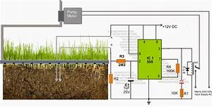 Simple Automatic Plant Watering Circuit